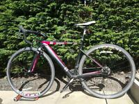 13 Intuition Lamba Ladies Bike + Dlock + Puncture Proof Tyres