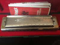 Hohner Super Chromonica 270 Key C 270 Harmonica,With Original Case & Booklet,EX-CON,Made in Germany
