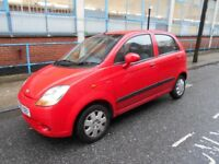 2007 CHEVROLET MATIZ 998 CC 5 DOOR HATCHBACK YEAR MOT A/C ELECTRIC PACK ECONOMICALL VGC