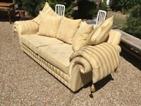 As new John Lewis sofa cost £2.800 hardly been sat on owner moved abroad