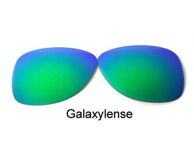 Galaxis Ersatzgläser für Oakley Crosshair S Sonnenbrille Grün Polarisierend gebraucht kaufen  Versand nach Germany