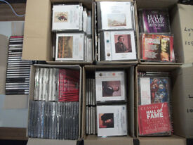 Huge collection of classical music CDs