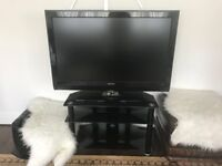 GOOD CONDITION- Philips widescreen flat TV and tv stand