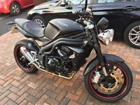 Triumph Speed Triple 1050 Matt Black