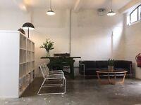 Desk space in shared office - London Fields / Broadway Market, Hackney, London