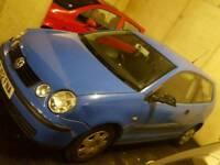 VW Polo 2002 1.2 petrol 3 door