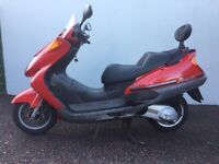 Honda Pantheon 125 Maxi Scooter - 2 Stroke, full mot, very quick