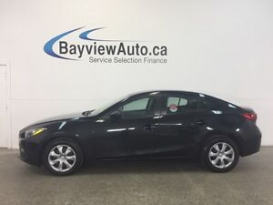 2015 Mazda Mazda3 GX- 6 SPD! SKYACTIV! BLUETOOTH! OFF LEASE!