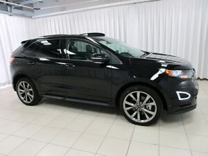2017 Ford Edge SPORT ECOBOOST AWD w/ BACK-UP CAMERA, BLIND-SPOT