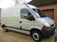 RENAULT MASTER (MWB) MM33 DCI100 (2464CC) MARCH 2008 MILEAGE 51550,