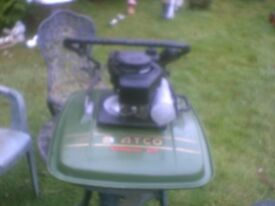 atco airborne 19 in cut petrol lawnmwer