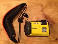 Nikon Coolpix AW130 with floating wrist strap
