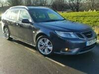 2011 SAAB 9-3 1.9 TTID4*TURBO EDITION*LEATHER*H/SEATS*P/SENSORS*CHEAP TAX+INSURANCE*#AUDI#BMW#VECTOR