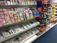 Price Reduced, Opportunity for Off-Licence Newsagent For Sale City Centre Stirling Lottery Payzone