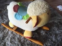 Blossom farm, sheep rocker