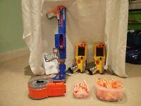Nerf Gun bundle: 3 guns + ammunition/darts