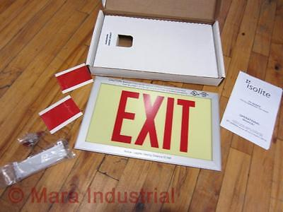 Isolite Ph-d-r-ba-un Exit Sign Phdrbaun