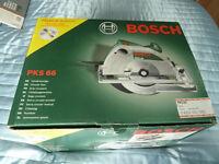 Bosch PKS 66 Circular Saw 1200W B.N.I.B