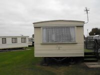 Holiday Caravan on Millfields 8 Berth 3 Bed,family site,close to the amenities.