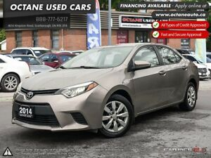 2014 Toyota Corolla LE ECO Accident Free*One Owner*2 Year WAR...