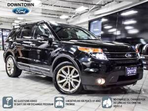 2012 Ford Explorer Limited, AWD, Pano Roof, Navi, Tow Pack