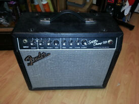 FENDER SUPER CHAMP XD VINTAGE TUBE AMPLIFIER