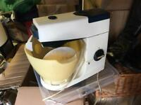 KENWOOD FOOD MIXER with blender attachment