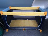 Hauck Travel Cot with Mattress