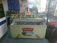 Kelly's ice cream freezer