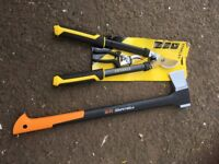 Loppers and pruners/axe