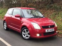 Late 2006 Suzuki Swift 1.5 VVTS GLX 3dr, full year MOT, trade in considered, credit cards accepted