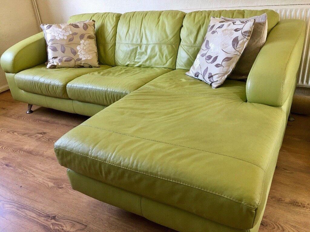 Super Dfs Corner Leather Sofa With Chaise Lounge Good Condition In West Cross Swansea Gumtree Inzonedesignstudio Interior Chair Design Inzonedesignstudiocom