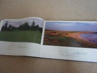The Great Scottish Courses - golf book signed by Donald Ford
