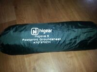 HI gear MOJAVE 5 FOOTPRINT (Groundsheet)