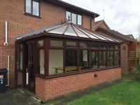 Conservatory / double glazed windows & doors