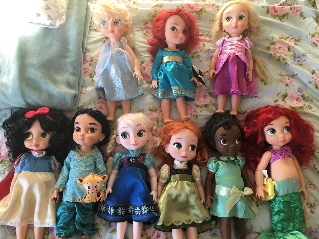 Disney Princess Disney store large animator dolls