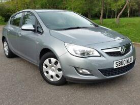 Vauxhall Astra '11 petrol automatic new MOT 29k miles