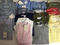 Bulk Wholesale Men's Gant Shirts, Tshirt, Knits 70% off!!!