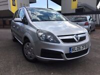 2006 * VAUXHALL * ZAFIRA * 1.6 PETROL * MANUAL * FULL SERVICE HIST * MOT 2017 * 7 SEATER * WARRANTY