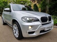 BMW X5 3.0D M SPORT AUTOMATIC FULL SERVICE HISTORY SAT-NAVIGATION XENON LIGHTS PERFECT CONDITION