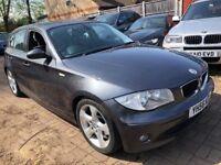 BMW 1 SERIES 120D DIESEL SPORT 2006 (56) FULL SERVICE HISTORY 1 YEAR MOT SPOR...