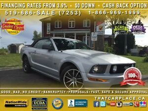 2005 Ford Mustang GT-Convertible-Auto-Bluetooth-AftMrkt Deck/Whe London Ontario image 1