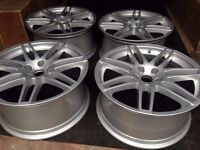 "4 X 19"" GENUINE AUDI TT ALLOYS WITH MODIFIED CENTRE BORE TO FIT ALSO MERCEDES VITO VIANO"