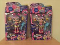 2x BNIB Rainbow Kate shopkins shoppie dolls