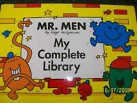 Mr. Men - My Complete Library - Set of 46 books minus Mr. Clumsy who has got lost