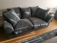 3+2 grey cord sofas (sold pending payment)