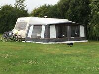 Trigano Ocean 250 full caravan awning with bedroom annexe