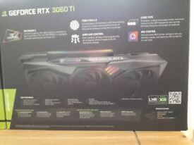 GEFORCE RTX3060TI LHR NEW NEVER USED