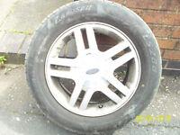ford focus mk1 alloy wheels x6 ,195/ 60/ 15
