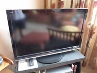 37 inch Panasonic Viera TV
